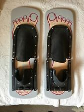 Vintage Lake Wooden Big Foot Shoe Water Skis, 22 Inches Long 7 Inches Wide