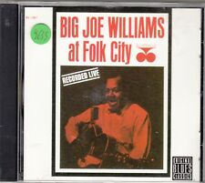 BIG JOE WILLIAMS - at folk city CD
