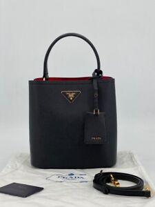 Small black Prada Paniel bag