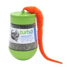 Turbo Wobble Bottle Catnip Dispenser and Toy for Cats 1 Ounce