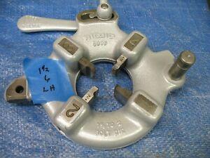 Ridgid 500B Bolt Die 1-1/8 to 2 inch 535 Pipe Threader NEW DIES 1-1/2 x 6 LEFT H