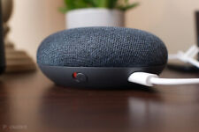 Google Home Mini - Charcoal Smart Home Voice Activated Speaker Assistant