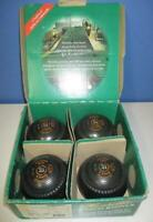 HENSELITE Series-C Classic II Lawn Bowls Size 0 Heavy Gripped Lamb Logo Orig Box