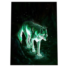 Wolf In Night DIY Diamond Painting Embroidery Paint By Number Kits for Kids