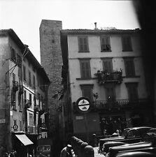 BERGAME c. 1950 - Ville Haute Italie - Négatif 6 x 6 - ITAL 13