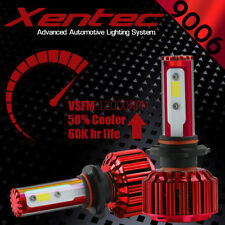 XENTEC LED HID Headlight kit 9006 White for 1992-1997 Ford Crown Victoria