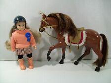 LORI FELICIA 6' MINI EQUESTRIAN DOLL WITH AMERICAN QUARTER HORSE FIGURE BATTAT
