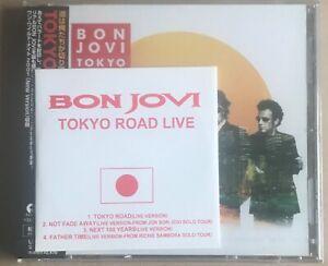 """Bon Jovi,Tokyo Road,Japan CD+ 3""""cd,2001,obi,Still Sealed"""