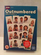 OUTNUMBERED - SERIES 1 TO 4 - DVD - REGION 2 UK   - NEW - SEALED - FREEPOST