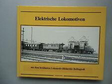 Elektrische Lokomotiven aus berühmten Lokomotiv-Bildarchiv Bellingrodt 1979
