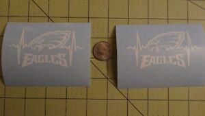2 X Philadelphia Eagles car decal or yeti, Tumbler