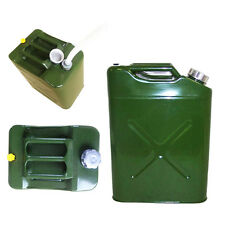 Jerry Can EU 5 Gal 20L Gasoline Oil Fuel Can Gas Storage Steel  Traveling Tank
