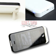 2200MAH EXTERNAL BACKUP MOBILE BATTERY CHARGER POWER CASE WHITE FOR IPHONE 5 5S