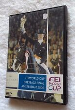 FEI WORLD CUP DRESSAGE FINAL AMSTERDAM 2006 (DVD) R-ALL. LIKE NEW, FREE POSTAGE