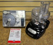 Kitchen Aid KFP750 Black 12 cups / 96oz Food Processor w/ Blades Free Shipping