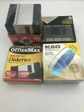 "Kao Mf2hd 10 High Density 3.5"" Diskettes IBM Formatted"