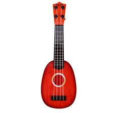 Grocery House Cute Mini Ukulele Toy for Kids, Musical Instruments Toy (Coffee)