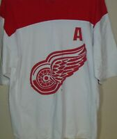vtg DETROIT RED WINGS BRENDAN SHANAHAN hockey jersey t shirt Large