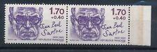 S1068 - Timbre de France N° 2357b Neuf** tenant à normal signé Calves