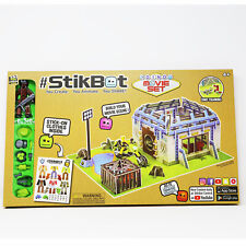 StikBot Dino Movie Set Stop Motion Animation Kit Create Animate Share Activity