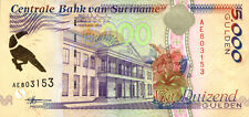 Surinam / Suriname 5.000 Gulden 1999 Pick 143b (1)