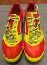 Adidas F50 Soccer Cleats Youth Size 5 Orange/Yellow
