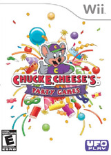 Chuck E. Cheese's Party Games (Nintendo Wii, 2010) LN WITH LOW SHIPPING