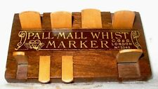 Antique 1880's to early 1900's Wood Pall Mall Whist Markers for Counting