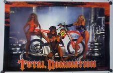 Vintage Poster Honda CR Motocross 1996 Rad & Bad Supercross Total Domination