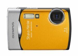 Olympus Stylus 790SW Waterproof Digital Camera (Orange)