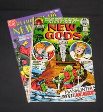 The New Gods bronze age comic lot of 2, 1972-77 Jack Kirby w/Manhunter story