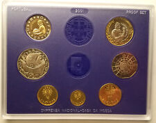 Portugal 2001 Proof Set. Last Escudo Coins