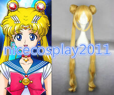 20% OFF Pretty Soldier Sailor Moon Crystal Pretty Guardian Cosplay Yellow Wig