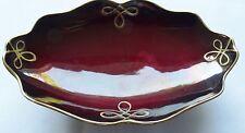 Royal Rouge Carlton Ware England Serving/Plate Bowl Vintage