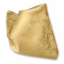 Vesuvio Napoli PAISLEY Design Men's Hankerchief Pocket Square Mens Hanky Hankie