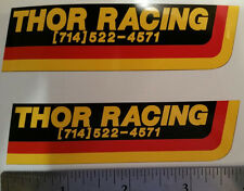 THOR Racing decal stickers YZ CR RM KX 125 250 360 400 465 500  AHRMA Vintage