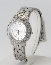 Guess Watch Women's Stainless Steel Crystal Watch U1062L1, New