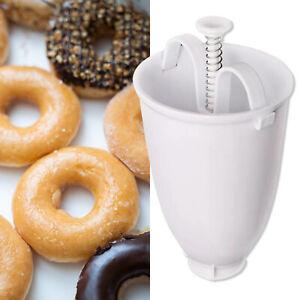 Doughnut Mould Donut Maker Machine Manual Dispenser Kitchen Utensil Tool UK