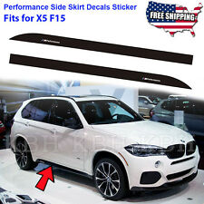 M Performance Side Skirt Sports Decal Stripe Sticker fits for BMW X5 F15 F85 SUV