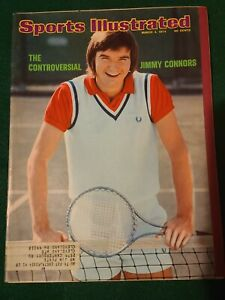 Sports Illustrated 1974 Mar 4 The Controversial Jimmy Connors