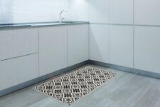 Spanish Tiles Pattern Mat Non-slip Vinyl Easy-clean Home Decorions 66 X 120 Cm