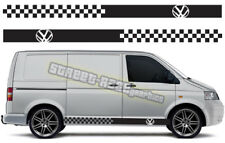 VW Volkswagen Transporter 004 T4 de gráficos T5 van Racing Rayas Pegatinas Calcomanías