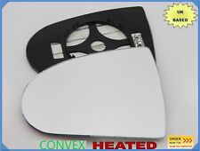 Wing Mirror Glass For MITSUBISHI COLT 2004-2014 Convex HEATED Left Side #JB007