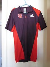 Londres 2012 olímpico fabricantes de juegos para Mujer Camisa uniforme de voluntarios Talla XS