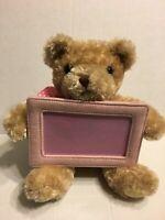 "Animal Adventure Brown Picture Frame Bear 10"" Plush Stuffed Animal"