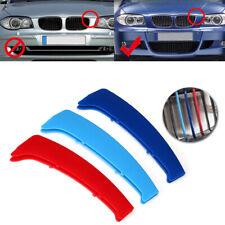 3x Striscia M SPORT cover griglia calandra BMW Serie 1 E81 E82 E87 E88 2004-11