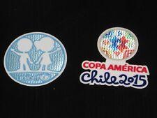 COPA AMERICA 2015 Chile Soccer Jersey Patch Set Patches Argentina Brazil Uruguay