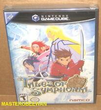 Tales of Symphonia (Nintendo GameCube, 2004) GC & Wii New Sealed Black Label
