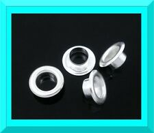 100 Silver Plated Replacement Cores For  Charm(s), European and Hobbies & Crafts