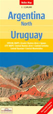 NEW 2008~MAPof ARGENTINA, North & URUGUAY, Nelles~City& Detail Maps:Buenos Aires